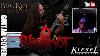 Video Slipknot - Solway Firth [ Guitar Cover w/ Special Movie Effects