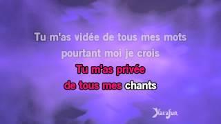 Karaoké Je Suis Malade (Live 98)   Lara Fabian *