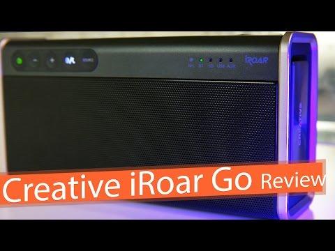 Best Sounding Bluetooth Speaker - Creative iRoar Go Review