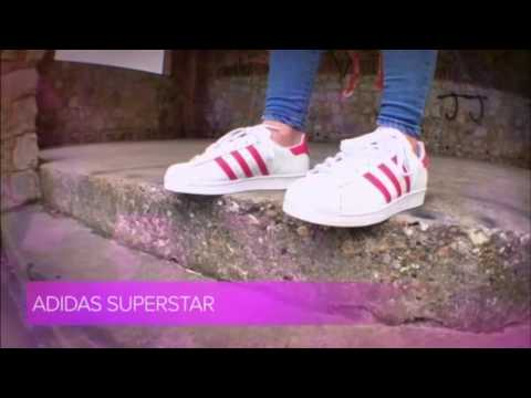 ❤  ❤ Adidas Junior Superstar White Pink Trainers  ❤  ❤