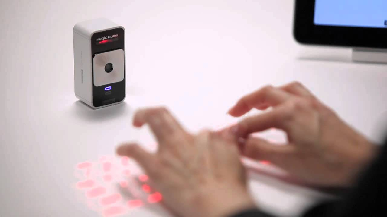 Celluon Magic Cube Laser Keyboard Review: You're Ruining The Future For Everyone