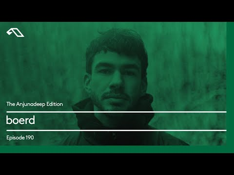 The Anjunadeep Edition 190 with boerd
