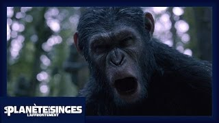 Trailer of La Planète des Singes - Suprématie (2017)