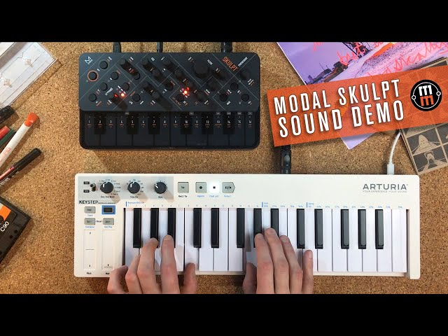 Modal Electronics Skulpt - sound demo (no talking)