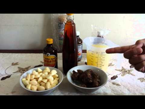 Video bawang putih , cuka apel, lemon, jahe merah,madu asli = herbal kesehatan