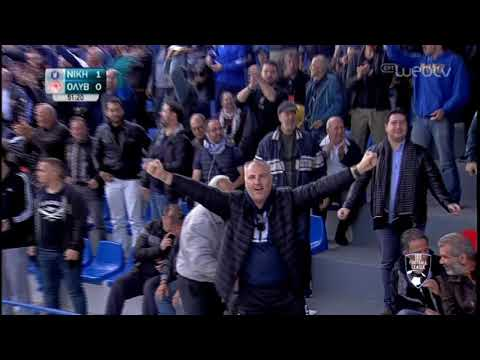 Football League:  ΝΙΚΗ ΒΟΛΟΥ-ΟΛΥΜΠΙΑΚΟΣ ΒΟΛΟΥ    ΓΚΟΛ 1-0   16/11/2019   ΕΡΤ