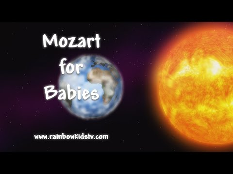 Baby Mozart – Classical Music for Children – Rainbow Kids TV