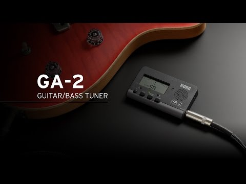Korg GA-2 Accordatore per chitarra/basso (spigola)