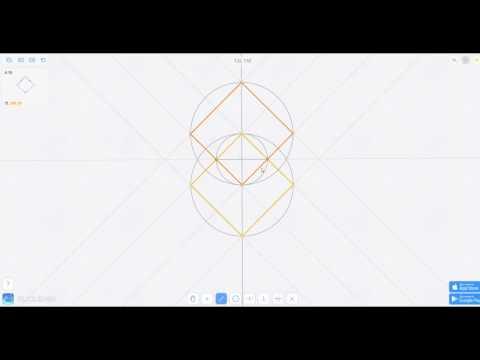 Euclidea Прохождение на все звезды | Гамма и Дельта