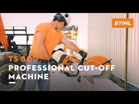 Stihl TS 800 Cutquik in Ogallala, Nebraska - Video 3