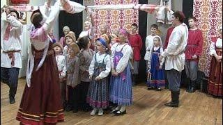 Музыкальная школа русского фольклора «Кудесы» торжественно приняла в свои ряды первоклассников