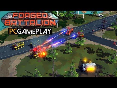 Gameplay de Forged Battalion
