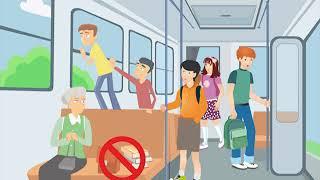 Общественный транспорт  правила поведения