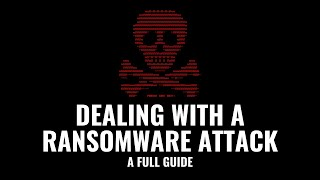 Dealing with a Ransomware Attack: A full guide