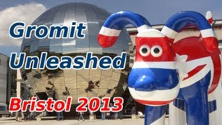 preview picture of video 'Gromit Unleashed - 80 Gromits, 10 Weeks, 1 City'