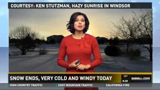12/26/15 9News Belen De Leon Weather Segment