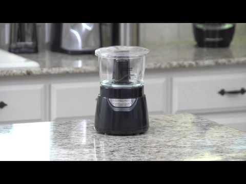 , Hamilton Beach (72850) Food Processor Mini Chopper, 3 Cup, Electric, Black
