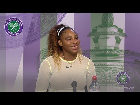 Serena Williams Semi-Final Press Conference Wimbledon 2019