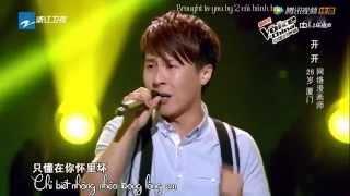 [Vietsub] Tình yêu mà em muốn - Khai Khai | The voice 2014