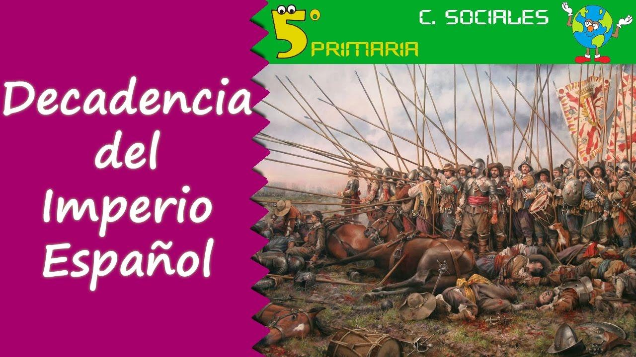 Decadencia del Imperio Español. Sociales, 5º Primaria, Tema 8