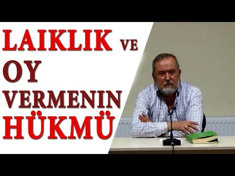LAIKLIK VE OY VERMENIN HÜKMÜ - Hüsnü Aktaş/ Yusuf Kerimoğlu