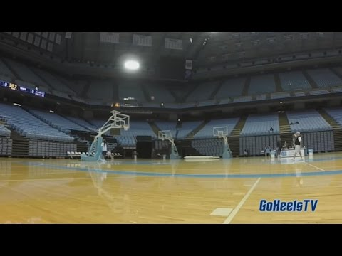 Video: Roy Williams Makes Half-Court Shot