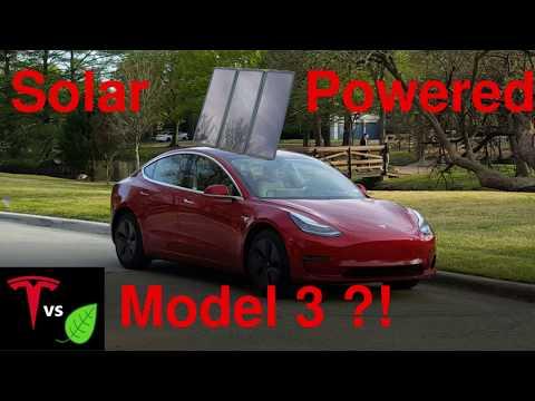 Solar Powered Tesla Model 3 Tesla Forums