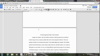 Customizable headers and footers in Google Docs