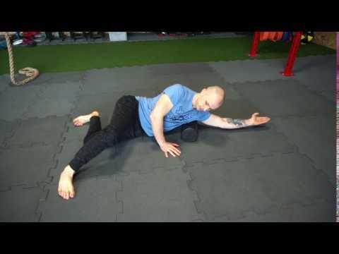 Shin ćwiczenia mięśni na nim
