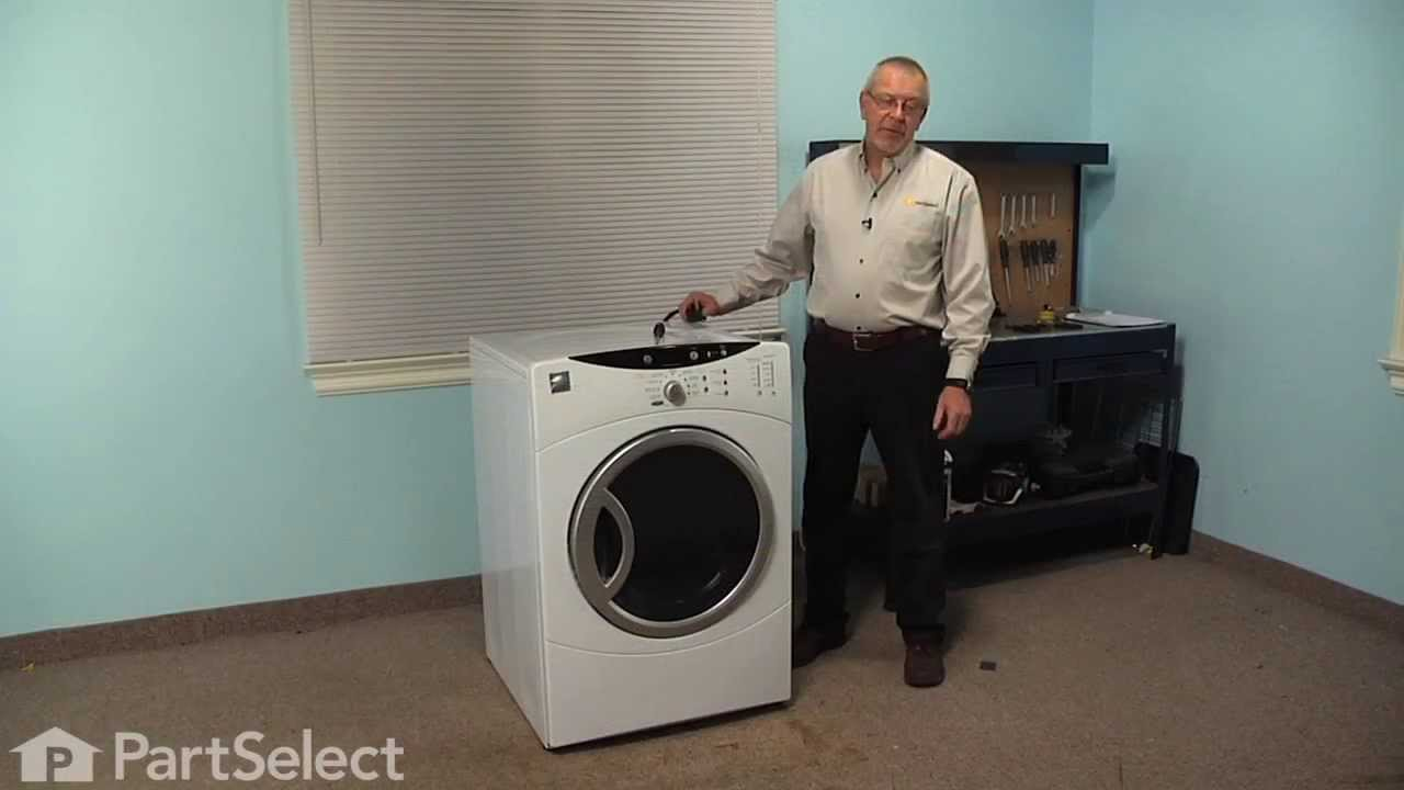Replacing your General Electric Dryer Top Bearing