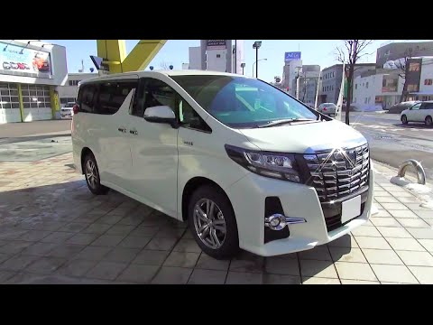 "TOYOTA ALPHARD HYBRID SR ""C Package"" 4WD - Exterior & Interior"