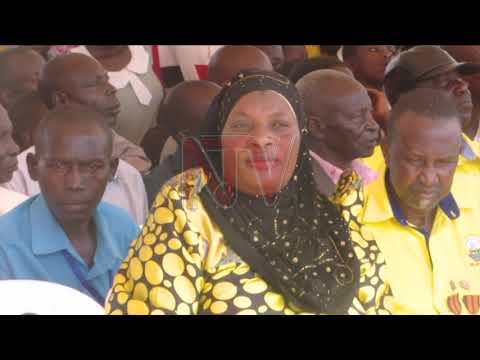 Museveni atandise okusaggulira owa NRM e Hoima