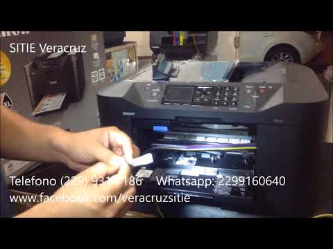 Instalacion sistema de tinta canon MB2110