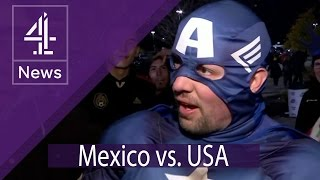 Mexico v USA: Meet the crowd at the World Cup qualifier