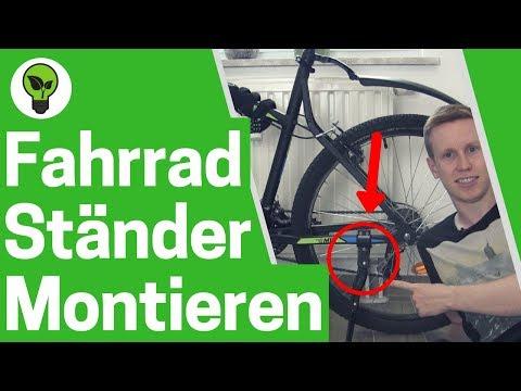Fahrradständer montieren ✅ ULTIMATIVE ANLEITUNG: Seitenständer & Ständer an Mountainbike & Fahrrad!!