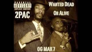 2Pac - 9. Snoop Interlude - Wanted Dead Or Alive