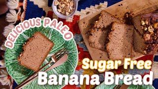 Sugar Free Paleo Banana Bread Recipe   Moist, Delicious, & Easy to Make   Sanne Vloet