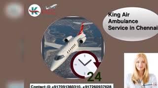 King air ambulance in Jamshedpur-Provides All Facilities