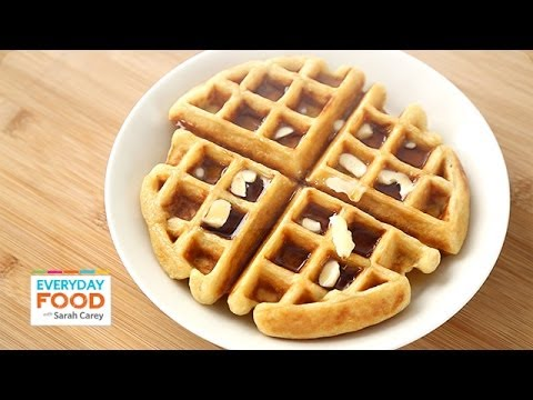 Video Buttermilk Waffle - Everyday Food with Sarah Carey