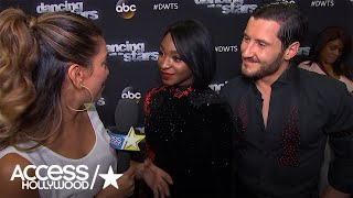 'DWTS': Normani Kordei Discusses Perfect Score; Treating Her Back Injury | Access Hollywood