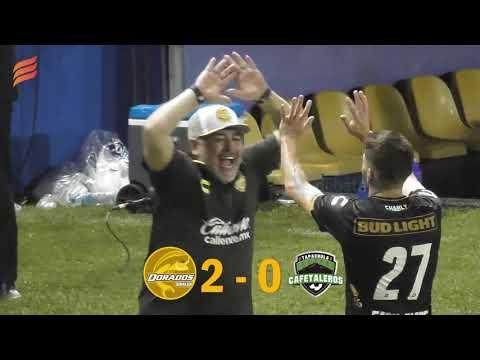 La reacción de Maradona 4 - 1 Ganan Dorados vs Tapachula