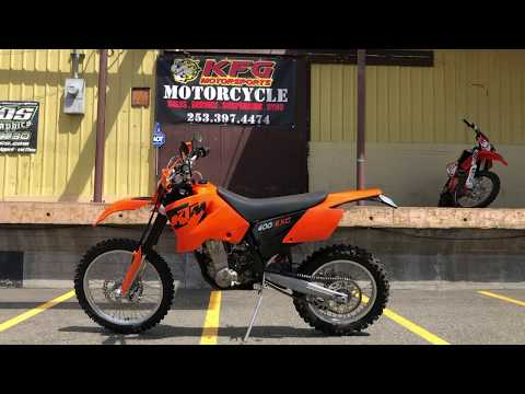 2006 KTM 400 EXCW in Auburn, Washington - Video 1