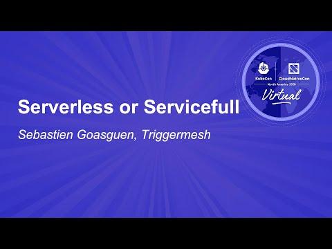 Image thumbnail for talk Serverless or Servicefull