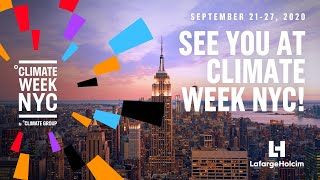 Aligning the built environment with the Paris Agreement 1.5°C scenario at Climate Week NYC