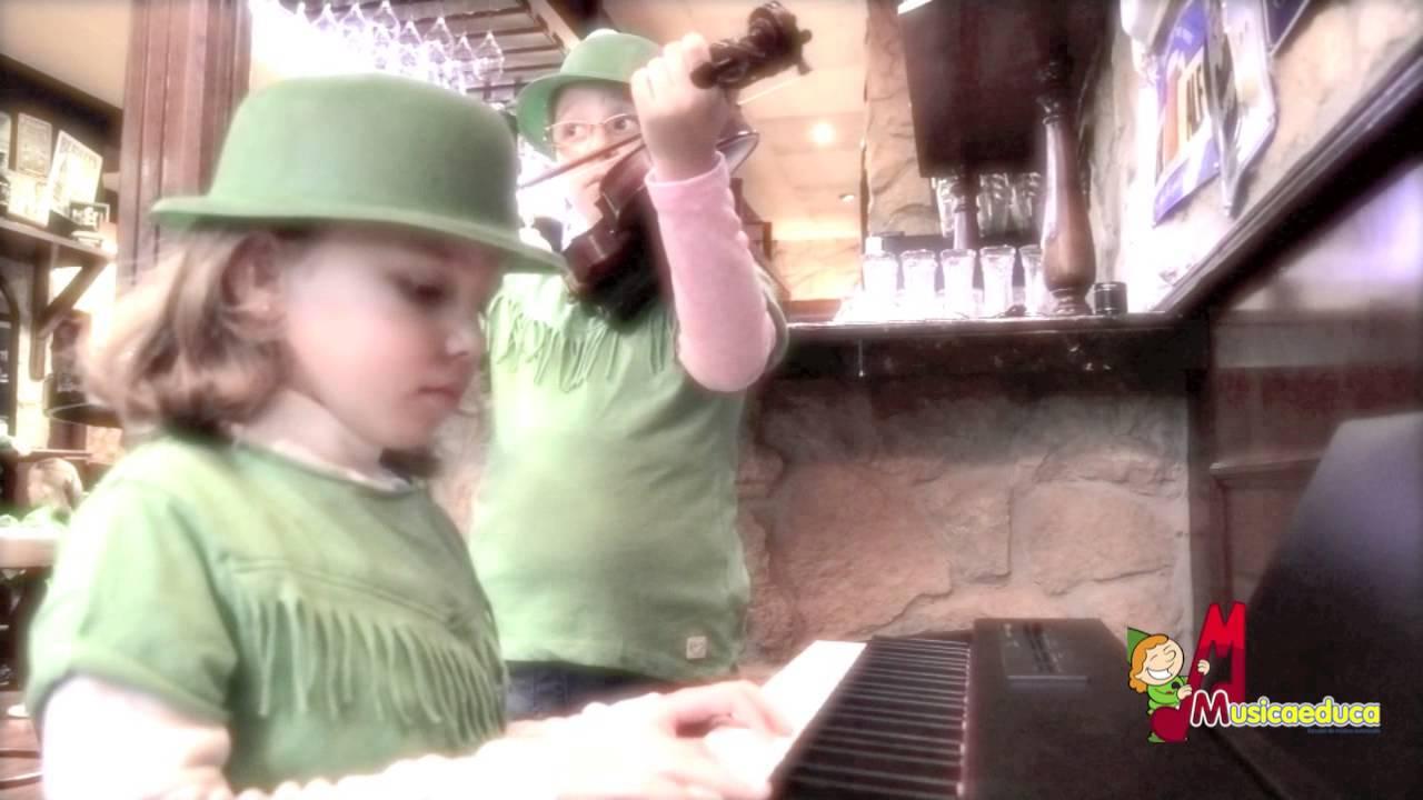 El juego de San Patricio - Grupo de alumos de Mi Teclado -   Escuela de música de Viesques
