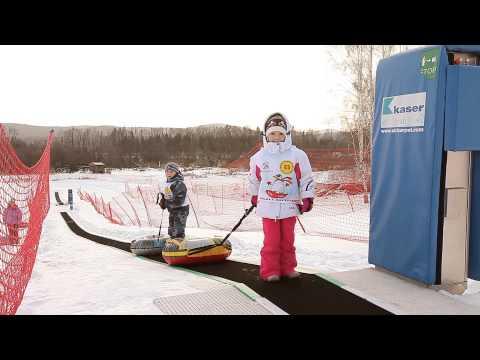 Видео: Видео горнолыжного курорта Солнечная долина в Челябинская область