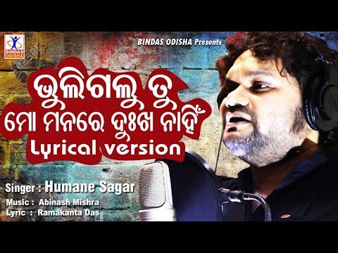 bhuligalu tu mo manare dukha nahin lyrical version humane sagar new odia song bindas odisha