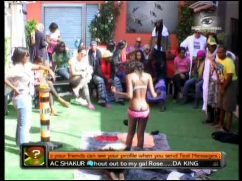 Big Brother Africa Amplified -  Vina Removes Vimbai's Bra.