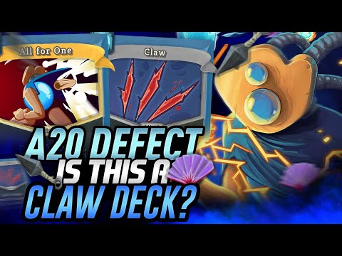Is this a claw deck? | Ascension 20 Defect Run | Slay the Spire
