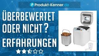 [FAZIT] Brotbackautomat Erfahrungen + REVIEW | Medion MD 14752 im TEST! BESTER Brotbackautomat?